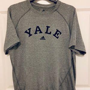 Yale Adidas T Shirt